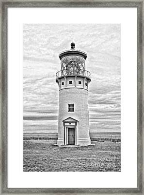 Kilauea Lighthouse Framed Print by Scott Pellegrin