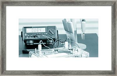 Laboratory Equipment Framed Print by Wladimir Bulgar