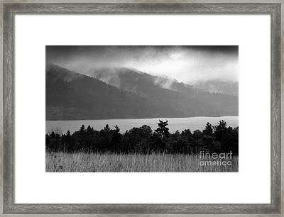 Lake Framed Print by James Taylor