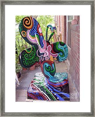 Le Mileau Mode Framed Print by Genevieve Esson