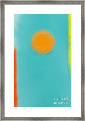Lily Pond Framed Print by Anita Lewis