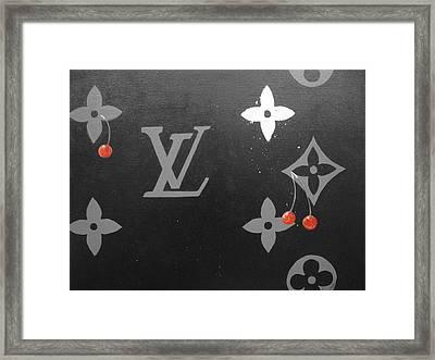 Louis Vuitton  Framed Print by Robert Cunningham