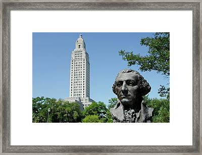 Louisiana, Baton Rouge Framed Print by Cindy Miller Hopkins