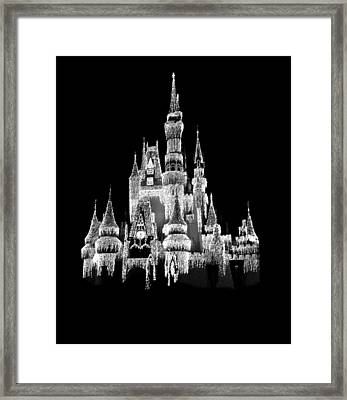 Magic Kingdom Framed Print by Art Spectrum