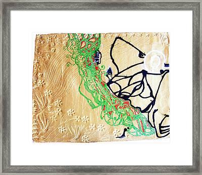Mama Dinka - South Sudan Framed Print by Gloria Ssali