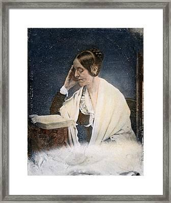 Margaret Fuller (1810-1850) Framed Print by Granger
