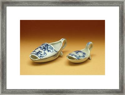 Medicine Spoons Framed Print by Science Photo Library