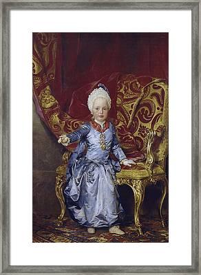 Mengs, Anton Raphael 1728-1779 Framed Print by Everett