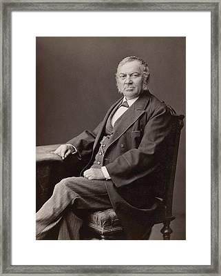 Men's Fashion, 1880s Framed Print by Granger