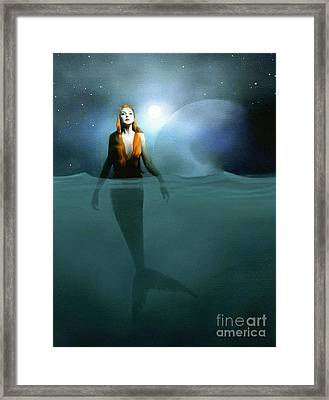 Mermaid Framed Print by Robert Foster