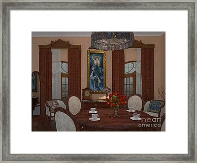 My Art In The Interior Decoration - Elena Yakubovich Framed Print by Elena Yakubovich