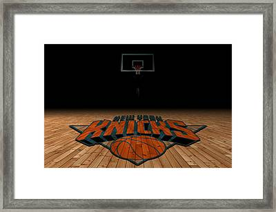 New York Knicks Framed Print by Joe Hamilton