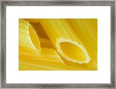 Pasta Framed Print by Modern Art Prints