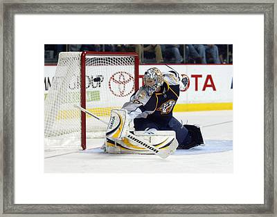 Pekka Rinne Framed Print by Don Olea