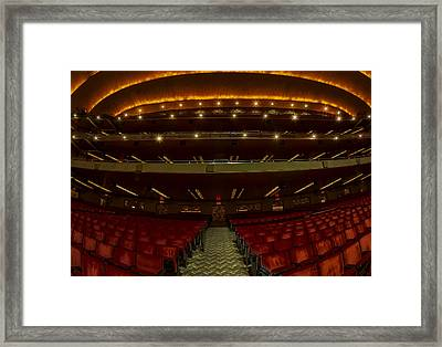 Radio City Music Hall Theatre Framed Print by Susan Candelario