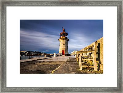 Ramsgate Lighthouse Framed Print by Ian Hufton