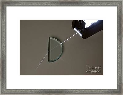 Refraction Framed Print by Trevor Clifford Photography