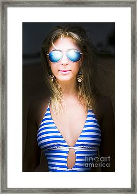 Retro Framed Print by Jorgo Photography - Wall Art Gallery