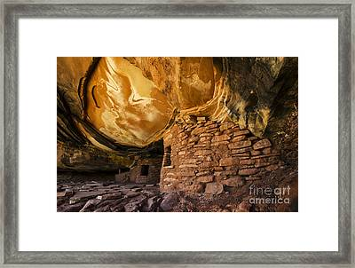 Ancient Spaces Utah Framed Print by Bob Christopher