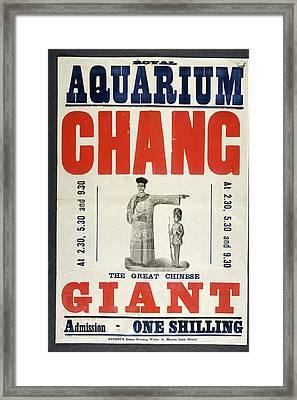 Royal Aquarium Framed Print by British Library