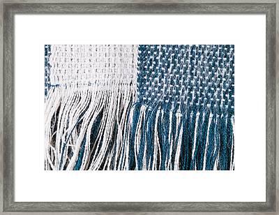 Scarf Framed Print by Tom Gowanlock