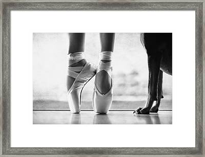 Shall We Dance Framed Print by Laura Fasulo
