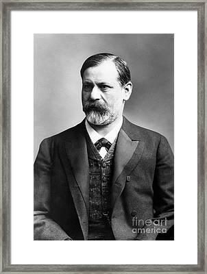 Sigmund Freud (1856-1939) Framed Print by Granger