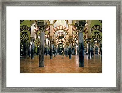 Spain. Cordoba. Mezquita Mosque Framed Print by Everett