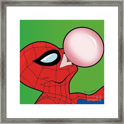Spiderman  Framed Print by Mark Ashkenazi