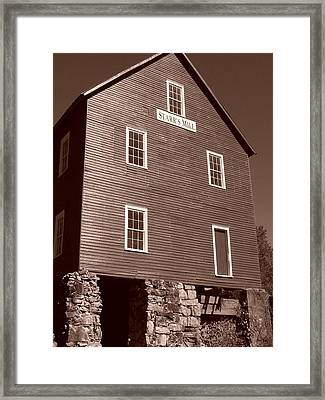 Starr's Mill Ga Framed Print by Jake Hartz