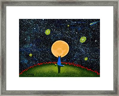 Starry Sky Framed Print by Todd Young