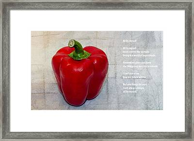 Still Life Framed Print by Mirra Photography
