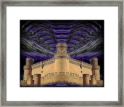 Stormy Keep Framed Print by J D Owen