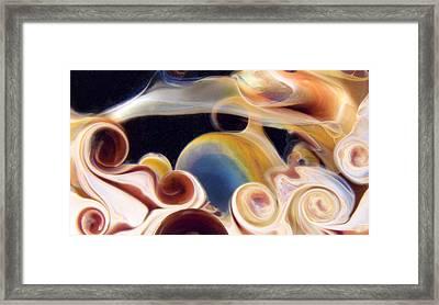 Stratosphere Framed Print by Jubilant  Art