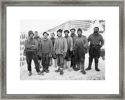 Terra Nova Antarctic Exploration Framed Print by Scott Polar Research Institute