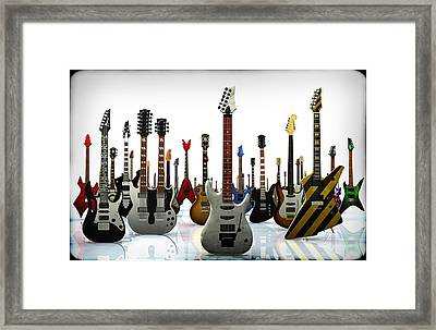 The G Gathering Framed Print by Frederico Borges