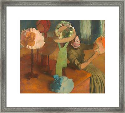 The Millinery Shop Framed Print by Mountain Dreams