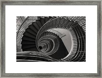 The Staircase Framed Print by Roni Chastain