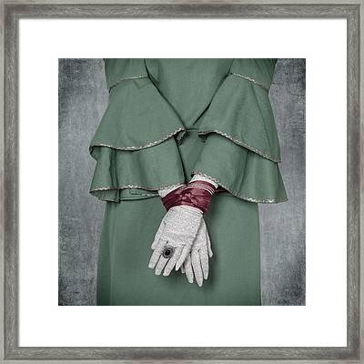Tied Framed Print by Joana Kruse