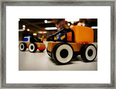 Toy Vehicle Framed Print by Celestial Images