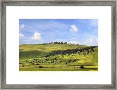 Tuscany - Montalcino Framed Print by Joana Kruse