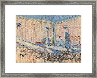 Two Planes Framed Print by Donald Maier
