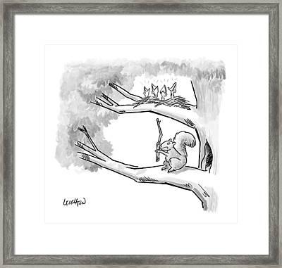 Untitled Framed Print by Robert Leighton