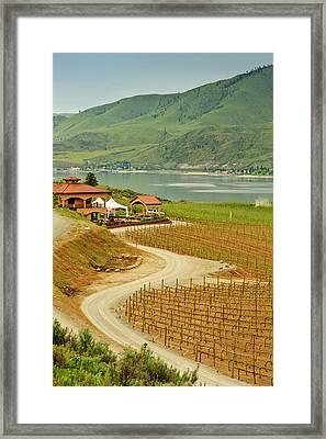 Usa, Washington, Lake Chelan Framed Print by Richard Duval