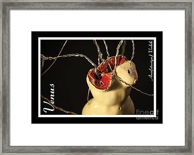 Venus Framed Print by Anastasiya Verbik