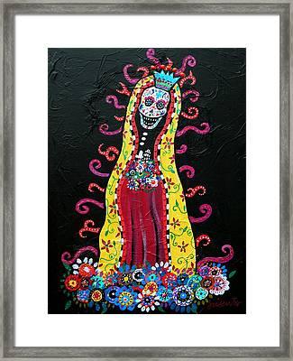Virgin Guadalupe Framed Print by Pristine Cartera Turkus