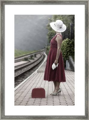 Waiting Framed Print by Joana Kruse