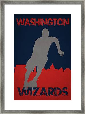 Washington Wizards Framed Print by Joe Hamilton