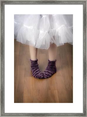 Woollen Socks Framed Print by Joana Kruse