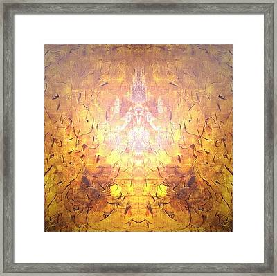 Yellow Framed Print by Pirsens Huguette